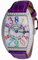 Franck Muller Totally Crazy Midsize Ladies Ladies Wristwatch 7880 TT CH COL DRM D CD