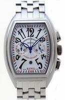 Franck Muller King Conquistador Chronograph Large Mens Wristwatch 8005 K CC O-1