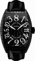 Franck Muller Black Croco Large Mens Wristwatch 8880 CH BLK CRO