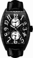 Franck Muller Black Croco Large Mens Wristwatch 8880 MB SC DT BLK CRO