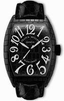 Franck Muller Black Croco Large Mens Wristwatch 8880 SC BLACK CROCO