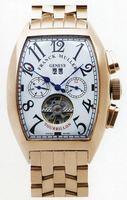 Franck Muller Master Calendar Tourbillon Large Mens Wristwatch 8880 T MC-2