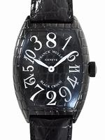 Franck Muller Black Croco Large Mens Wristwatch 8880CH BLK CRO