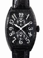 Franck Muller Black Croco Large Mens Wristwatch 8880MBSCDT BLK CRO