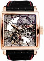 Roger Dubuis Golden Square Tourbillon Mens Wristwatch G40-GS-RG-S