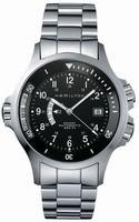 Hamilton Khaki Navy GMT Mens Wristwatch H77615133