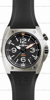 Bell & Ross BR 02-92 Steel Mens Wristwatch BR02-STEEL