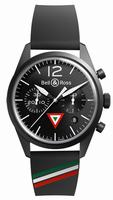 Bell & Ross BR 126 Insignia Mexico Mens Wristwatch
