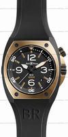 Bell & Ross BR 02-92 Pink Gold & Carbon Mens Wristwatch BR02-PINKGOLD-CA
