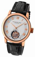Stuhrling Kings Court Swiss Tourbillon Mens Wristwatch KCTRG