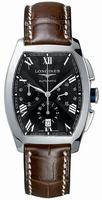 Longines Evidenza Chronograph Mens Wristwatch L2.643.4.51.4