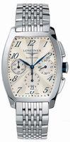 Longines Evidenza Chronograph Mens Wristwatch L2.643.4.73.6