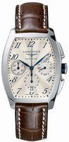 Longines Evidenza Chronograph Mens Wristwatch L2.643.4.73.9