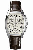 Longines Evidenza Chronograph Mens Wristwatch L2.656.4.71.9