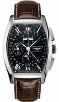 Longines Evidenza Moonphase Chronograph Mens Wristwatch L2.688.4.58.9