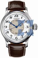 Longines Weems Second-Setting Mens Wristwatch L2.713.4.13.0
