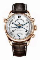 Longines Master Collection Retrograde Power Reserve Mens Wristwatch L2.714.8.78.3