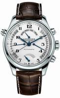 Longines Master Collection Retrograde Power Reserve Mens Wristwatch L2.716.4.78.3