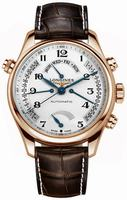 Longines Master Collection Retrograde Power Reserve Mens Wristwatch L2.716.8.78.3