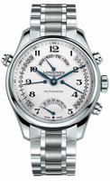 Longines Master Collection Retrograde Mens Wristwatch L2.717.4.51.6