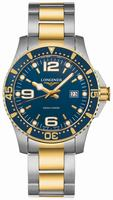 Longines Hydro Conquest Quartz Mens Wristwatch L3.640.3.96.7