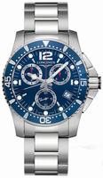 Longines Hydro Conquest Quartz Mens Wristwatch L3.643.4.96.6