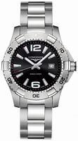 Longines Hydro Conquest Quartz Mens Wristwatch L3.647.4.56.6