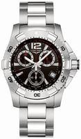 Longines Hydro Conquest Quartz Mens Wristwatch L3.650.4.56.6