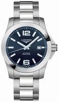 Longines Conquest Mens Wristwatch L3.658.4.96.6