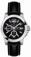 Longines Conquest Chronograph Mens Wristwatch L3.662.4.56.0