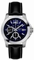 Longines Conquest Chronograph Mens Wristwatch L3.662.4.96.0