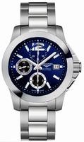 Longines Conquest Chronograph Mens Wristwatch L3.662.4.96.6