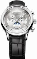 Maurice Lacroix Les Classiques Phase de Lune Chronograph Mens Wristwatch LC1148-SS001-131