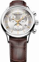 Maurice Lacroix Les Classiques Phase de Lune Chronograph Mens Wristwatch LC1148-SS001-132