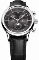 Maurice Lacroix Les Classiques Phase de Lune Chronograph Mens Wristwatch LC1148-SS001-331