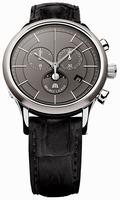 Maurice Lacroix Les Classiques Phase de Lune Chronograph Mens Wristwatch LC1148-SS001-830