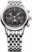Maurice Lacroix Les Classiques Phase de Lune Chronograph Mens Wristwatch LC1148-SS002-331