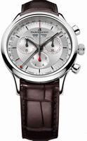 Maurice Lacroix Les Classiques Chronographe Automatique Mens Wristwatch LC1228-SS001-131