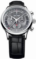 Maurice Lacroix Les Classiques Chronographe Automatique Mens Wristwatch LC1228-SS001-330