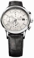 Maurice Lacroix Les Classiques Chronographe Automatique Mens Wristwatch LC6058-SS001-130