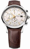 Maurice Lacroix Les Classiques Chronographe Automatique Mens Wristwatch LC6058-SS001-131