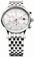 Maurice Lacroix Les Classiques Chronographe Automatique Mens Wristwatch LC6058-SS002-130