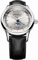 Maurice Lacroix Les Classiques Phase de Lune Mens Wristwatch LC6068-SS001-131