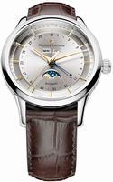 Maurice Lacroix Les Classiques Phase de Lune Mens Wristwatch LC6068-SS001-132