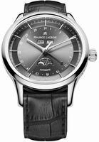 Maurice Lacroix Les Classiques Phase de Lune Mens Wristwatch LC6068-SS001-331