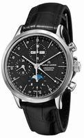 Maurice Lacroix Les Classiques Phase de Lune Mens Wristwatch LC6078-SS001-33E