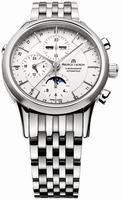 Maurice Lacroix Les Classiques Phase de Lune Mens Wristwatch LC6078-SS002-13E