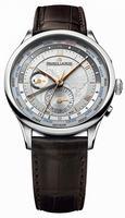 Maurice Lacroix Masterpiece Worldtimer Mens Wristwatch MP6008-SS001-110