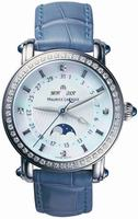 Maurice Lacroix Masterpiece Phase De Lune Ladies Wristwatch MP6066-SD501-17E-BL