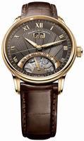 Maurice Lacroix Masterpiece Jours Retrogrades Mens Wristwatch MP6358-PG101-71E